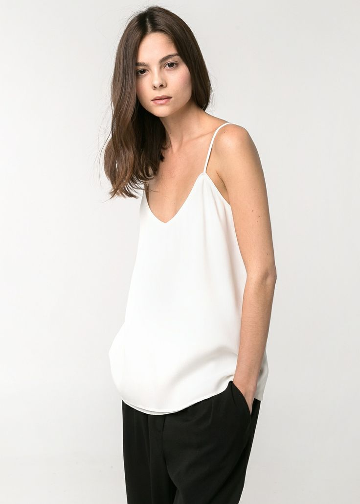 FLOWLY STRAP TOP #SS14