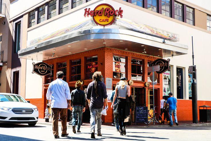 Hard Rock Cafe New Orleans Drink Menu