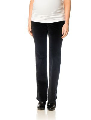 Thyme Maternity black bootcut cords