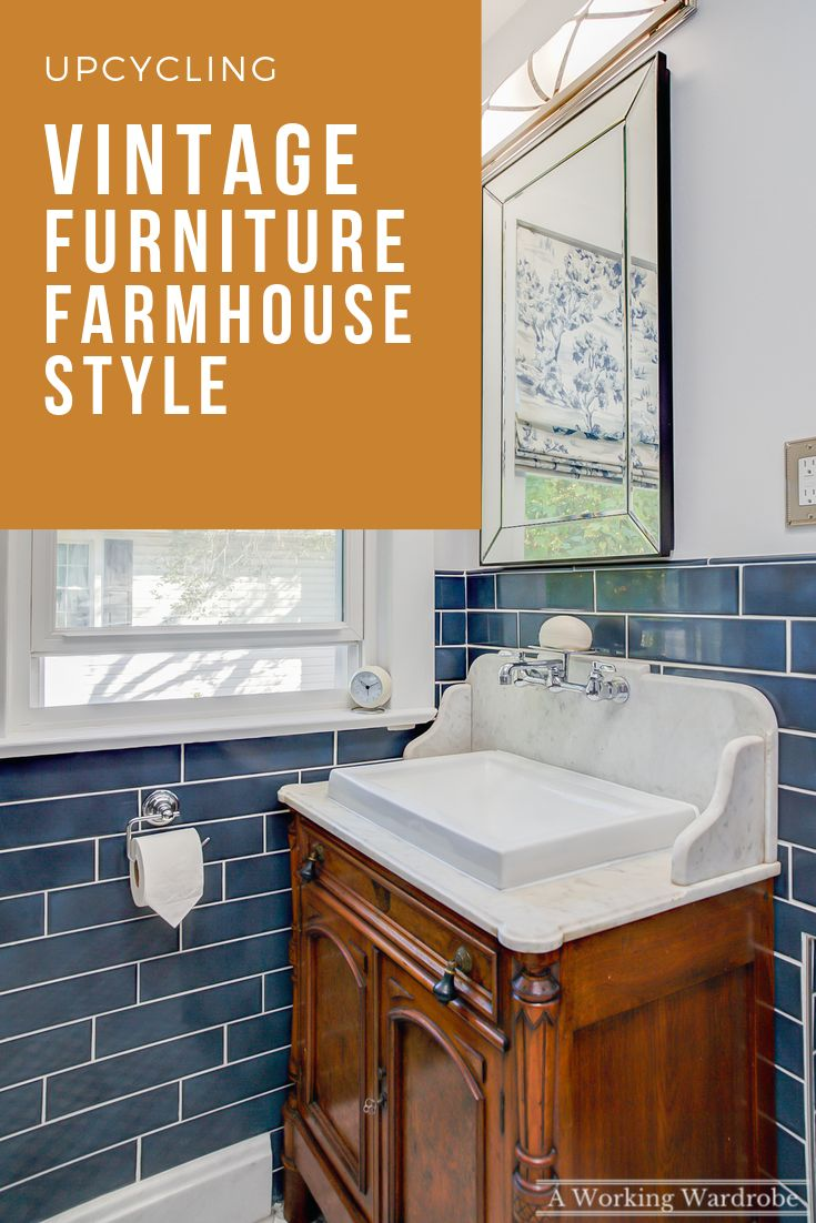 Transformed our 1920s guest hall bathroom with a gut