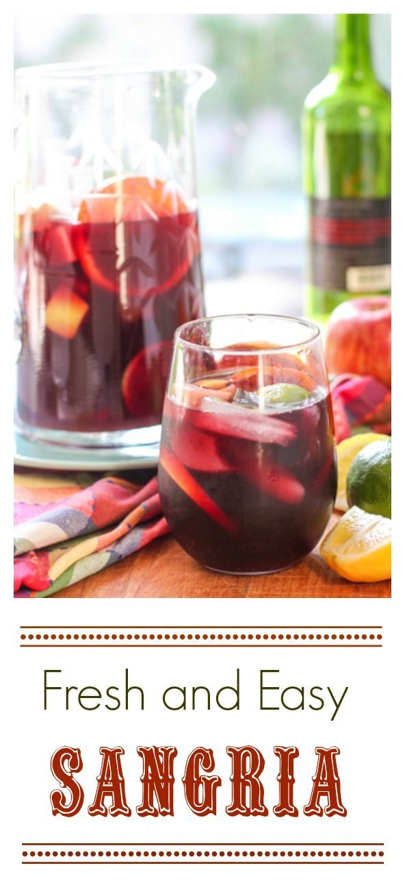 Fresh and Easy Sangria!