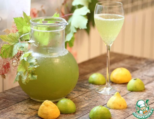 """Освежающий и полезный домашний лимонад """"Тархун"""" ингредиенты"""