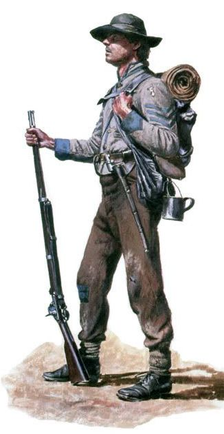 Confederate Soldier by Don Troiani.