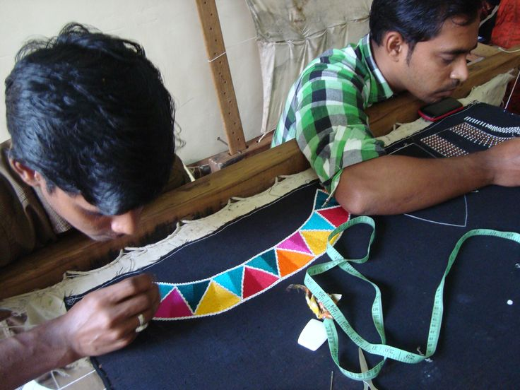 Hand Embroidery by Artisans