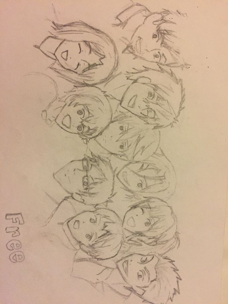 Free! Iwatobi Swim Club (so proud of this one till I realized it was average at best)