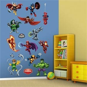 Flathead Superhero Squad Wall Decals. Each About 24 Part 17