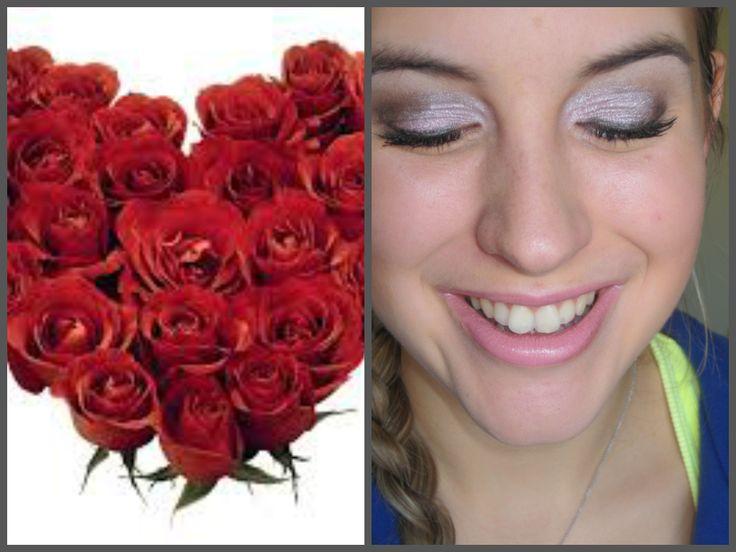 valentines day make up   http://www.youtube.com/watch?v=Bgdgj2M50JU