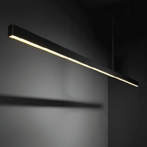 Modular SL Mini Poly Out Suspended Hanglamp zwart by Modular in Hanglampen - Binnenverlichting