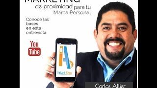 Marketing de Proximidad, para tu marca personal, entrevista con Carlos Allier vía Blog de Fernando de León Estrada http://blgs.co/G5s5ib