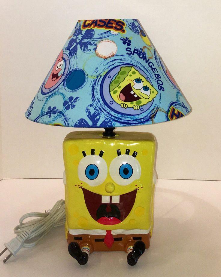 47 best kids crafts room ideas and clothing images on pinterest custom made spongebob square pants lamp aloadofball Choice Image