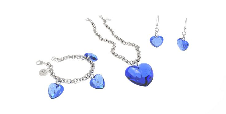 MyG jewels Love&Diamonds #Blue #Love #Hearts #MyG #Jewerly #Design #Shape #Top #best