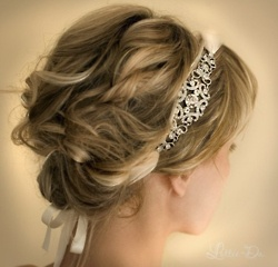 Curly Twist. Love the headband!