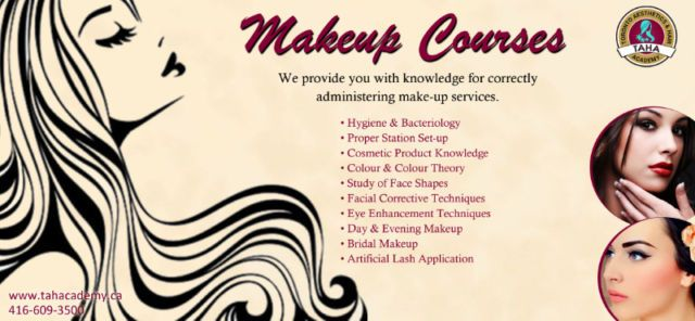 Get exposure of #Make-Up methods and procedures from the top notch #aesthetic and #hair #academy in #Toronto. https://goo.gl/cZ4SQZ