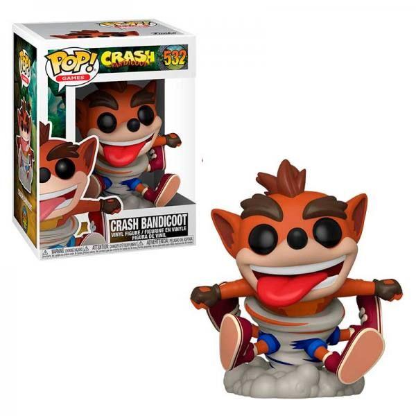 Juegos Coco Nuevo Crash Bandicoot figura de vinilo Pop