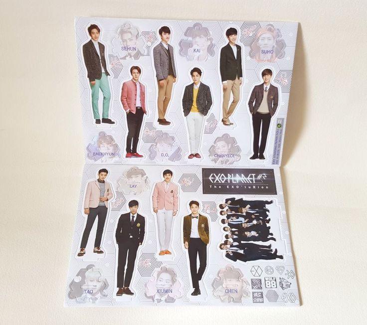 EXO ALBUM PICTORIAL OFFICIAL GOODS EXODUS  Mini Standee Figure Doll - (New)