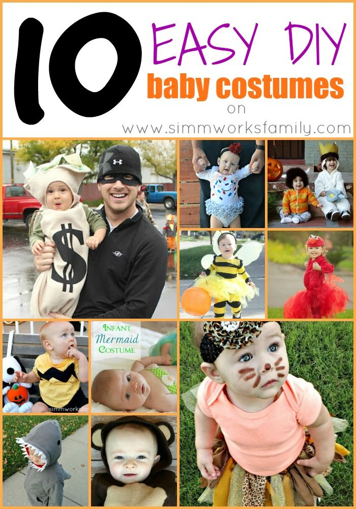 186 best fancy dress images on pinterest costumes halloween 10 easy diy baby costumes solutioingenieria