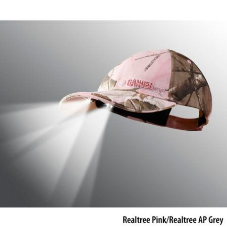 Gander Mountain 4 White LED Pink PowerCap with 3-D Raised Logo - Gander Mountain