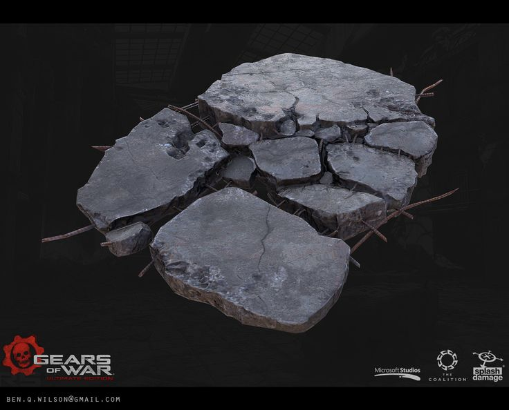 ArtStation - Gears of War: Ultimate Edition, Ben Wilson