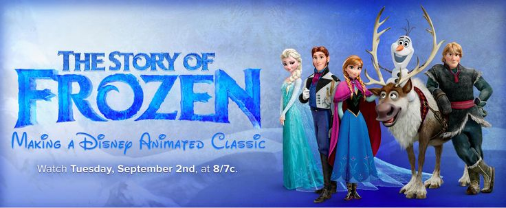 I enjoyed watching The Story Of  Frozen. Only thing I've enjoyed more about Frozen, was watching the movie with the littlest members of our family! Looking forward to the New Short Frozen Movie coming soon!