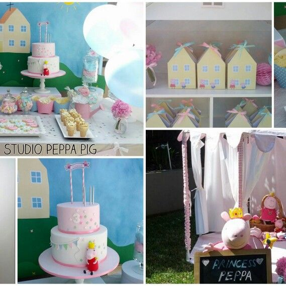 Sweet Party Studio Peppa Pig Party