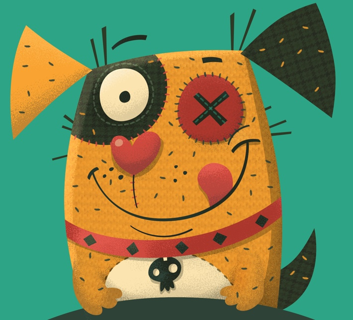 Voodoo Pets by Steve Simpson, via Behance
