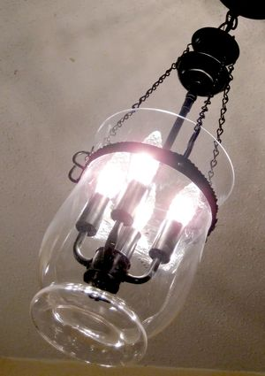 Make your own pottery barn light fixture