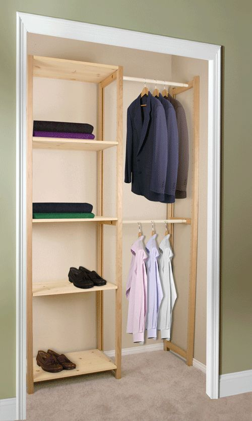13 Awesome Affordable Closet Organizers Image Ideas