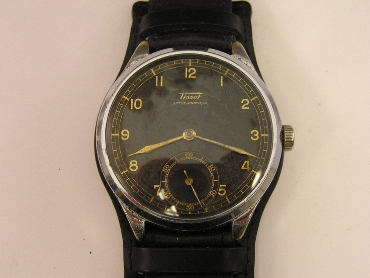http://www.ebay.com/itm/Vintage-Tissot-Military-Watch-possibly-Pilots-46mm-Wide-Wire-Lugs-/151721744295?nma=true