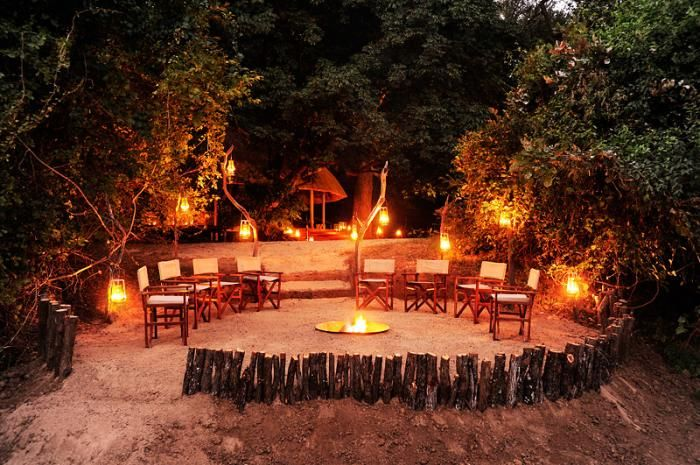 The boma at  Bilimungwe