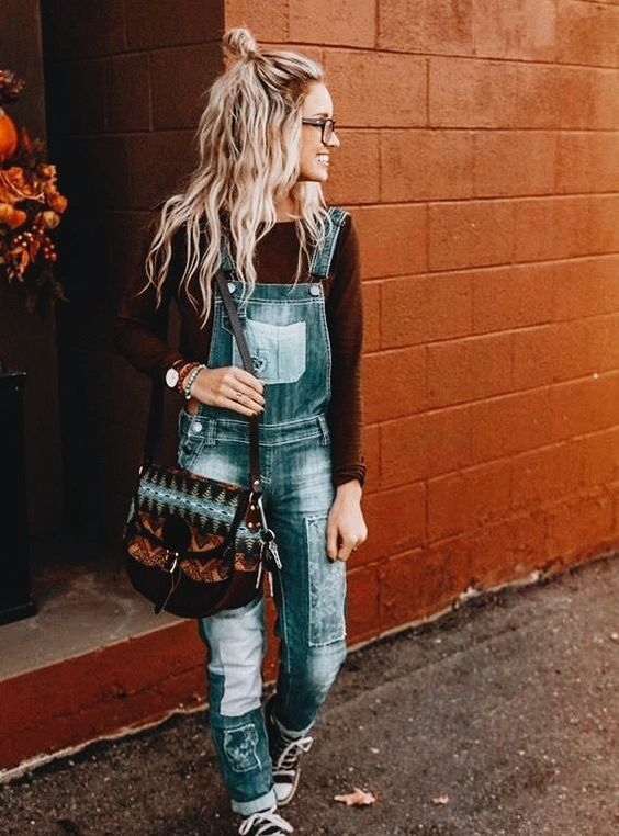 Super chic ways to wear a jumpsuit this winter