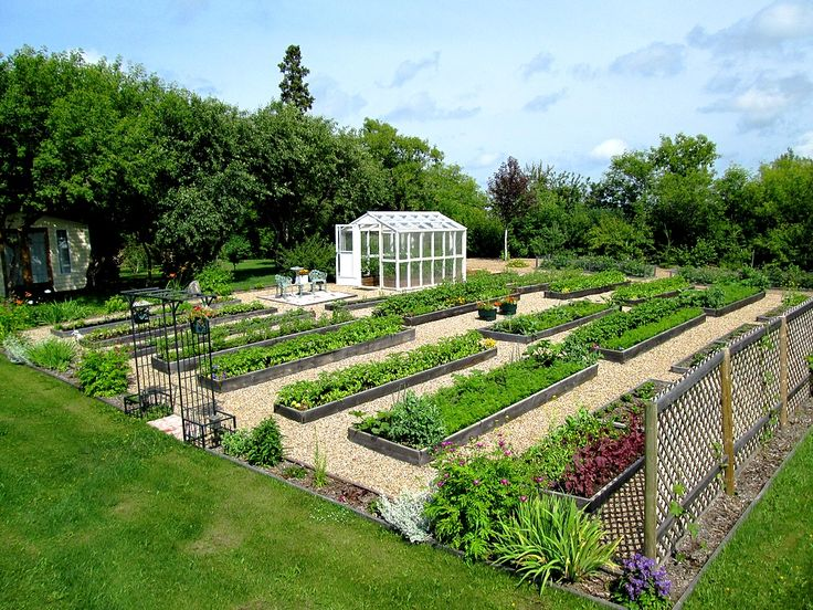641 best Garden: Potager, Raised Beds, Trellises images on Pinterest ...