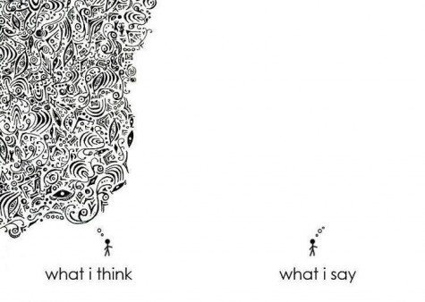 what i think VS what i say