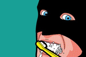 Somewhere in real life, all of our icons and heroes that we've looked up to for so long are out there doing the mundane, day-to-day stuff that we don't expect super heroes to ever really have to do. In Greg Guillemin's Secret Heroes series, all of these normalities are revealed.