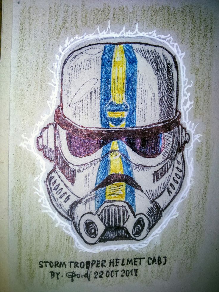 Casco stormtroopers  Xeneixe... Sketch by: Clord...!!!
