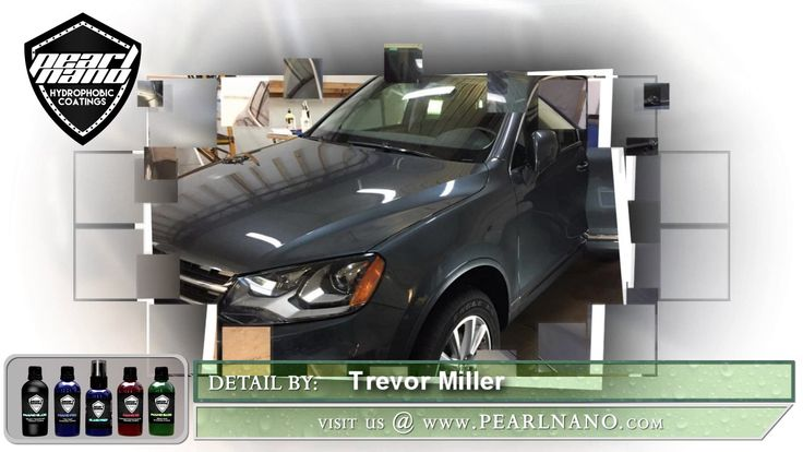 Pearl Nano Coatings - Super Hydrophobic Nano Coatings For Auto Detailers, Performed by Trevor Miller, Detailing and Ceramic Coatings by visiting us @ Pearlnano.com