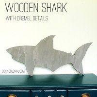 Wooden Shark