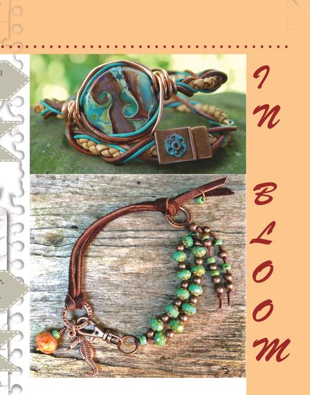 August 2013 BEAD Chat Magazine by Artisan Whimsy - Glossi by Melinda Orr - Glossi.com