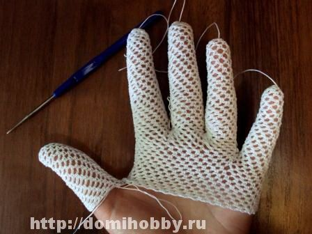 Just make a tube for each finger and join them together. Great idea! (Insert URL in translate.google.com to get instructions in English)