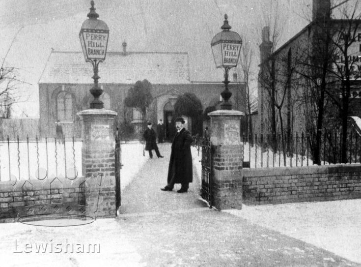Perry Hill Library c.1891 - Lewisham Borough Photos