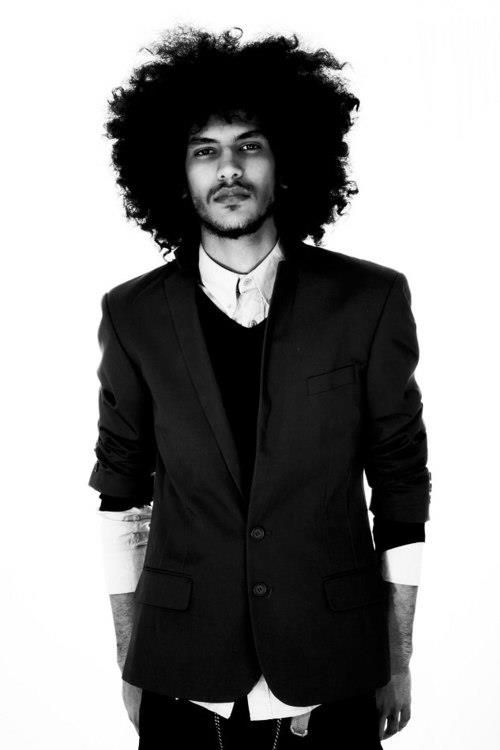 <3 Natural Hair  Natural hair - Oh men in big hair.. Afro fashion styles. Beautiful people of the world. Love