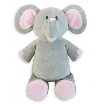 15 best personalised teddies images on pinterest cubbies personalized baby cubbie elephant comes with personalization with the babys name age birth date weight etc negle Gallery