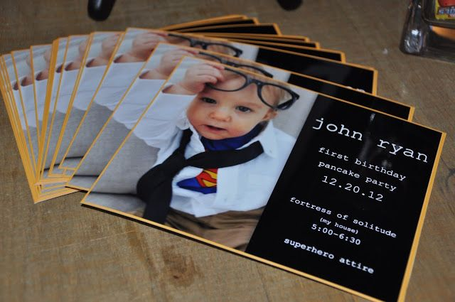 superman first birthday party invitations by my dirty aprons blog