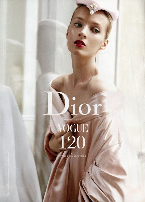 Christiandior, Christian Dior, Ads Campaigns, Daria Strokous, Patricks Demarchelier, Fall Fashion, Vogue Magazines, September 2012, Fashion Editorial