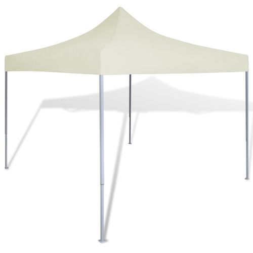 Cream Foldable Tent 3 x 3 m