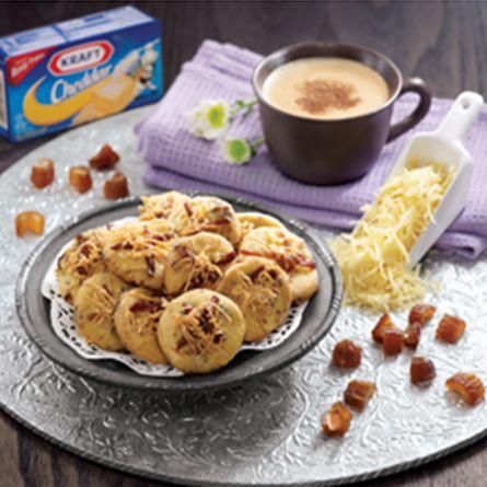 Kurma Keju Cookies