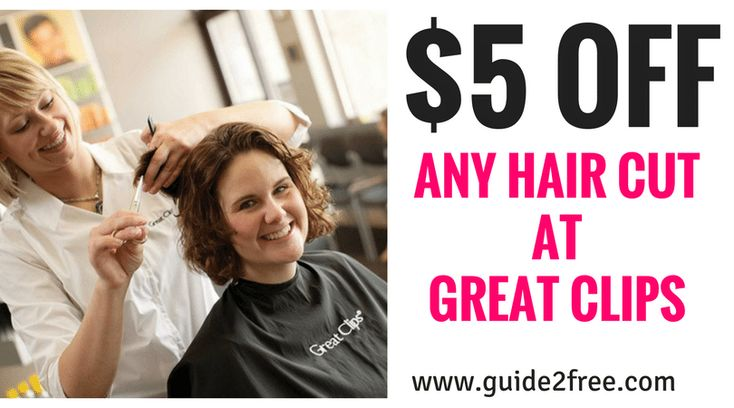 Great Clips Coupon 5 Off Any Haircut Great Clips Coupons Haircut Coupons Great Clips Haircut