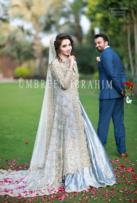 Pakistani bride and groom