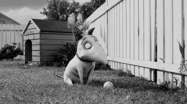 "Director Tim Burton returns to his roots with ""Frankenweenie,"" a remake of"