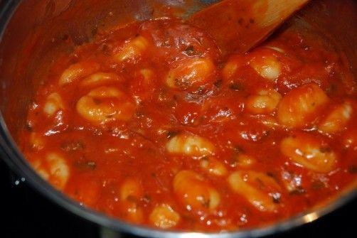 Gnocchis al pomodoro e basilico para #Mycook http://www.mycook.es/receta/gnocchis-al-pomodoro-e-basilico/