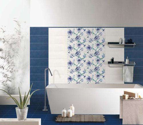 Oltre 1000 idee su piastrelle per bagno blu su pinterest - Bagno blu e bianco ...